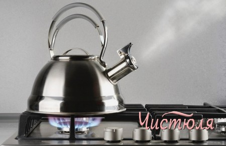 Как очистить чайник подручными средствами