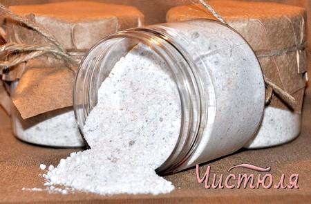 Соль как поглотитель влаги