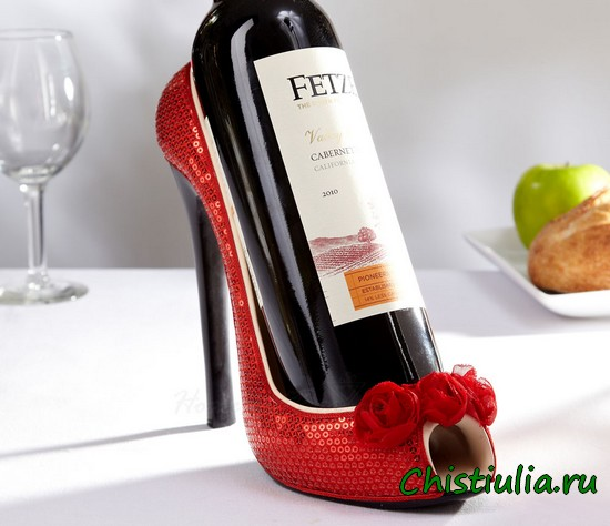 Вино в туфле